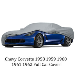 Chevy Corvette 1958 1959 1960 1961 1962 Full Car Cover