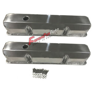 Bbf Valve Cover For Ford 352 390 Engine Fe Fabricated Aluminum Tall 1 4 Bille