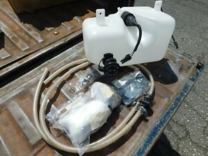 New 1993 1997 Ford Ranger Headlight Washer Kit With Reservoir And Lines New
