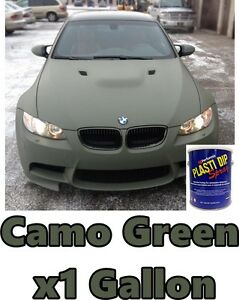 1 Gallon Camo Green Performix Plasti Dip Ready To Spray Rubber Coating