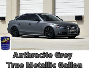 1 Gallon Anthracite Grey True Metallic Ready To Spray Plasti Dip Rubber Coating