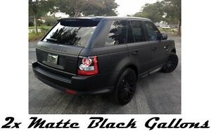 2 Gallons Matte Black Ready To Spray Performix Plasti Dip Rubber Coat