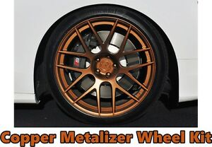Performix Plasti Dip Rim Wheel Kit 4 Matte Black 3 Copper Metalizer Aerosol Cans