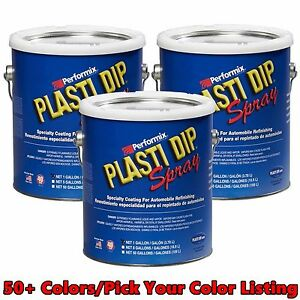Performix Plasti Dip Gallon 50 Colors 2 Pick From Combine S H Discounts Fast S H