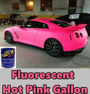 Plasti Dip Fluorescent Hot Pink Gallon Performix Ready To Spray Sprayable