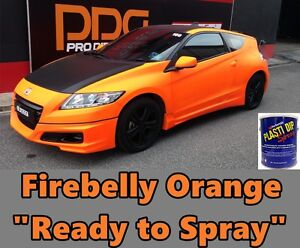 Plasti Dip Fluorescent Firebelly Orange Gallon Ready To Spray Coating Sprayable