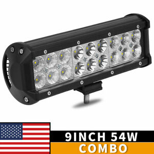 10pcs 6inch 18w Led Work Light Bar 4wd Offroad Spot Fog Atv Suv Driving Lamp
