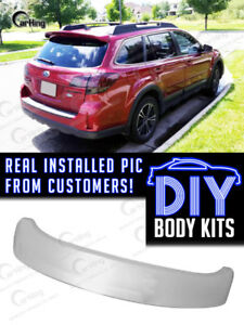 Carking Unpainted For Subaru Legacy V Br9 Oe Typ Trunk Roof Spoiler Fit Outback