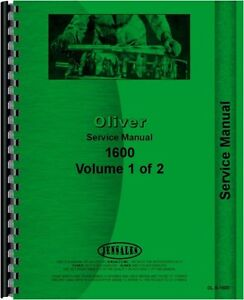 Oliver 1600 Tractor Service Manual