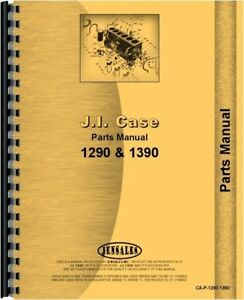 Case David Brown 1290 1390 Diesel Tractor Parts Manual Catalog