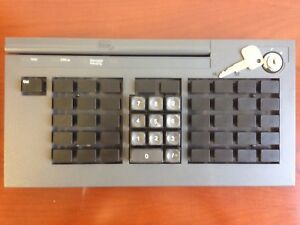 Ibm 50 key Pos Keyboard With Msr Iron Grey 10n1395 M7