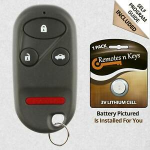 Car Transmitter Alarm Remote Key For 1998 1999 2000 2001 2002 Honda Accord H2t