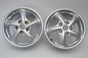 Porsche 996 Twist Wheels 7x17 Et55 99636212400