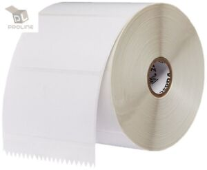 20 Rolls 4x2 Direct Thermal Labels Zebra Lp 2844 Gx Zp Models 1240 Labels Roll