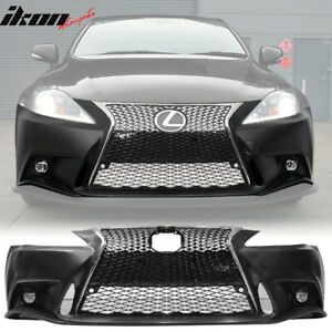Fits 06 13 Lexus Is250 Is350 F sport Front Bumper 2is To 3is Conversion Cover Pp