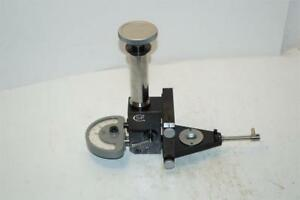 Sip Geneve Internal Thread Pitch Measuring Attachment With Indicator Swiss Made