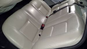 00 01 02 03 04 05 06 07 08 09 Saab 9 5 Cashmere Leather Rear Middle Back Seat