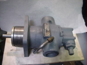 Idex Viking Hj95 Hj495 Motor Speed Flange Mtg Gear Pump
