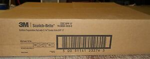 1 Box Of 10 Floor Surface Preperation Pads 17 Spp17 3m Buffer Burnisher