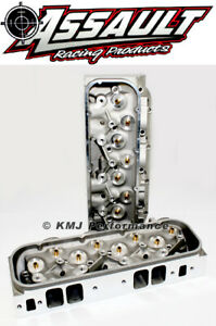 Big Block Chevy Bbc 454 Rectangle Port Bare Aluminum Cylinder Heads 122cc 330cc
