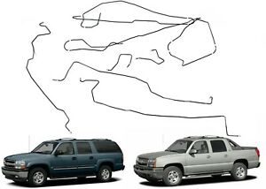 Acdelco 22932594 Pre Bent Brake Line Set For 2003 2006 Suburban Yukon Escalade