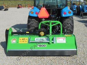 Flail Mower mulcher peruzzo Puma 1800 72 front Or Rear Mount left