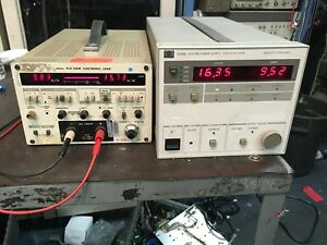 Hp 6038a Dc Power Supply 0 60v 0 10a 200w Hpib Load Tested