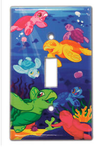 Hawaiian Tropical Light Switch Covers Home Bath Island Decor Hawaii Turtles Nib