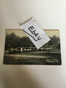 1900 S Vintage Postcard Small Train Mini House Of David Benton Harbor Michigan