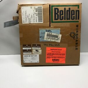 Partial Roll 7 25lbs Belden 26 Conductor Ribbon Cable 9l28026 008 h300 Apx 225