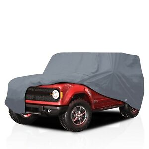 csc Waterproof Full Suv Car Cover For Hummer H3 2006 2007 2008 2009 2010