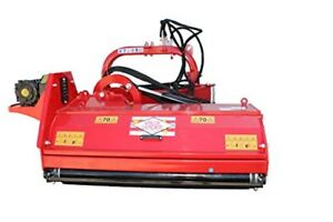 55 Commercial Duty roadside Open Rear Flail Mower Cat 2 3 Point Vl agf n140