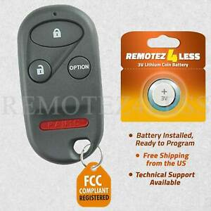 Keyless Entry Remote For 1996 1997 1998 1999 2000 2001 2002 Honda Accord Key Fob