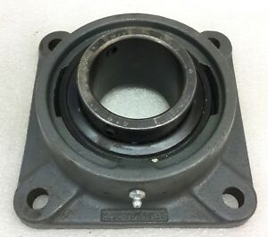 Sealmaster Sf 43 4 bolt Flange Mounted Bearing 2 11 16 Bore New No Box