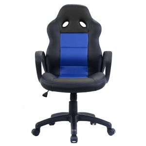 Office Cosy Pu Leather High Back Chair Race Car Style Bucket Seat Desk Gaming