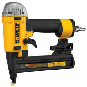 Dewalt 18 gauge 1 4 In Crown 1 1 2 In Finish Stapler Dwfp1838r Reconditioned