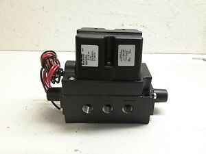 New Parker Ss Series Ss40102521 20 150psi Double Solenoid Air Control Valve