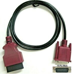 Purple Obdii Obd2 Cable For The Nexiq Pro link Iq Scan Tool Covers Volvo Mack