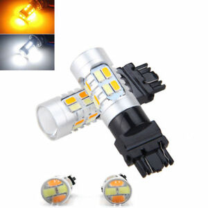 2x High Power 3157 Dual Color Switchback 20smd 5730 Led Bulbs Turn Signal Light