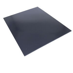 Us Stock 1pc 3mm X 7 87 X 9 84 Black Abs Styrene Plastic Flat Sheet Plate