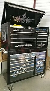 Loaded Pro Mac Limited Edition Mb1000 Toolbox Professional Tool Box Jesse James