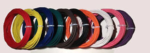 New 6 Awg Gauge 600 Volt Thhn Stranded Copper Wire 4 Colors 100 Ea 400 Total