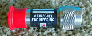 Weinschel Model 2 Fixed Attenuator 3db Free Shipping