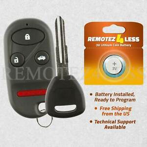 Keyless Entry Remote For 1998 1999 2000 2001 2002 Honda Accord Fob Car Key