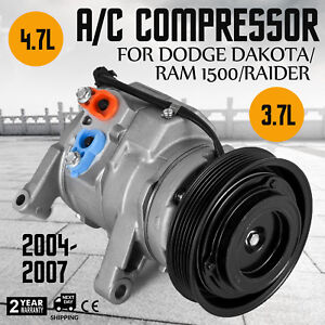 Air Conditioning Compressor Co 10800c Fit 2004 2005 2006 2007 Fit Ram 1500