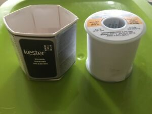 031 Silver Solder Ag 2 Silver 1 Pound Roll Kester Low Melt