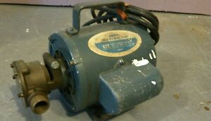 Reduced Jabsco Self Priming Fluids Transfer Pump
