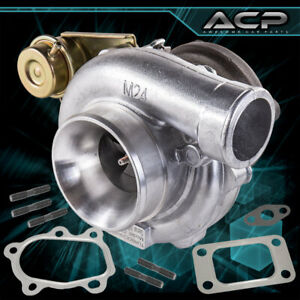 Jdm Sport Gt3076r Gt30 70 A R 63 Compression Dual Ball Bearing Cast Iron Turbo