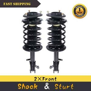 Front L R Complete Shocks Set For 93 02 Toyota Corolla Quick Strut Coil Spring