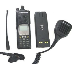 Motorola Xts5000 Astro Model Iii 7 800mhz Radio H18uch9pw7an Police Fire P25